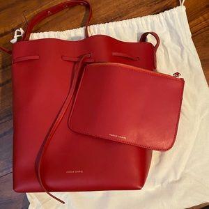 Authentic Mansur Gavriel medium bucket bag
